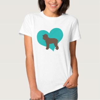 Water Spaniel Love Tee Shirts