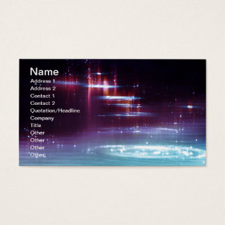 water_sparkle-wide business card