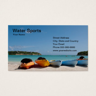 Water Sports Business Card