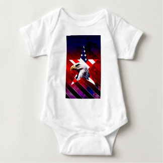 Water Stars Baby Bodysuit