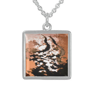 WATER STERLING SILVER NECKLACE