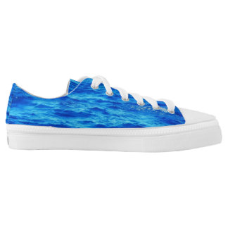 Water Surface Printed Shoes