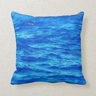 water  surface throw pillow