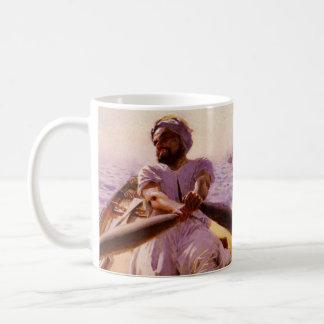 Water Taxi 1886 Basic White Mug