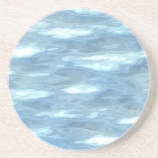 Water texture coaster