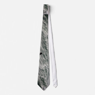 Water Themed, A Black And White Picture Of A Man S Tie