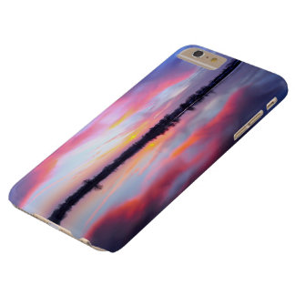 Water Themed, A Lake Reflecting The Sky Full Of Pi Barely There iPhone 6 Plus Case