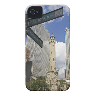 Water Tower, Chicago, Illinois, USA iPhone 4 Case