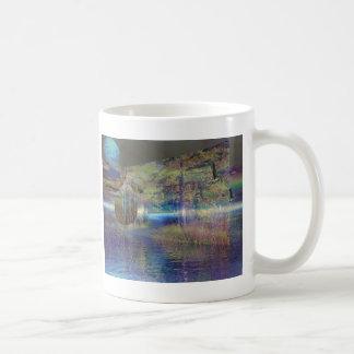Water trail basic white mug