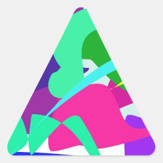 Water Triangle Sticker