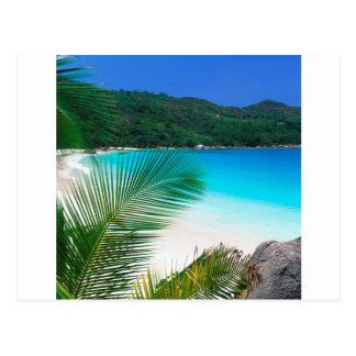 Water Tropical Retreat Seychelles Postcard