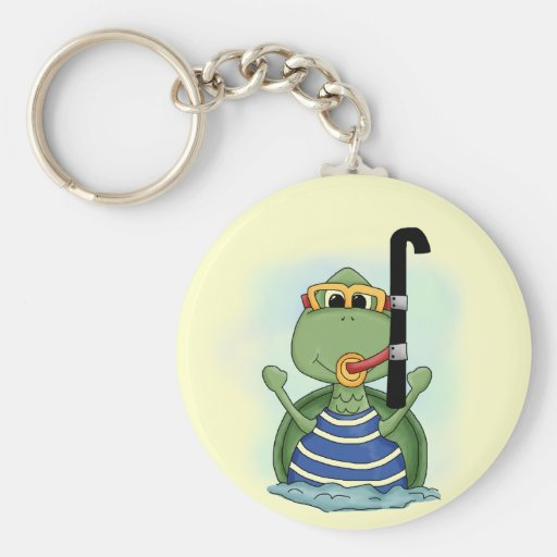 Water Turtle Tshirts and Gifts Key Chain