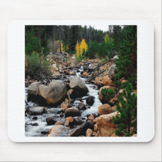 Water Valley Of Boulders Mouse Pad