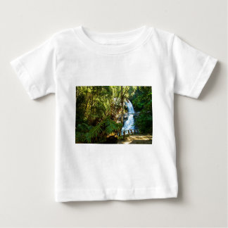 Water Waterfall Park Country Peace Love Destiny Baby T-Shirt
