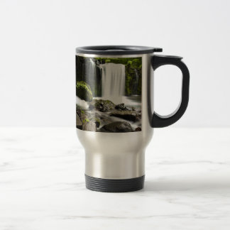 Water Waterfall Park Green Country Grace Destiny Coffee Mugs