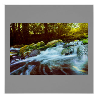 Water Waterfall Rock Green Nature Name Personalize