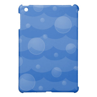 Water Waves and Bubbles iPad Case