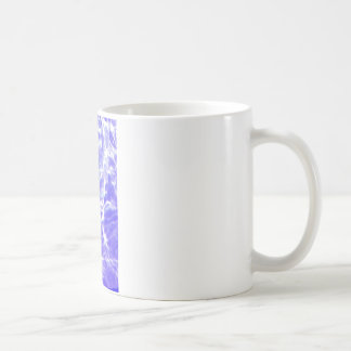 Water waves Drops Crystal Clear Fine glass tiles B Basic White Mug
