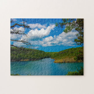Water Way Landscape Jigsaw Puzzle