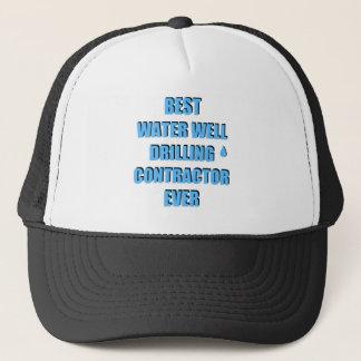 Water Well Drilling Contractor Trucker Hat