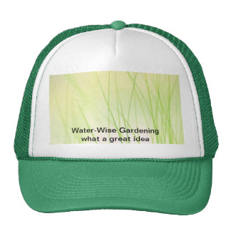 Water-Wise Gardening Cap
