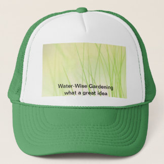 Water-Wise Gardening Trucker Hat