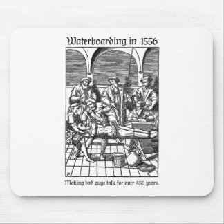 Waterboarding in 1556 mouse mat