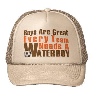 Waterboy Scoccer Cap