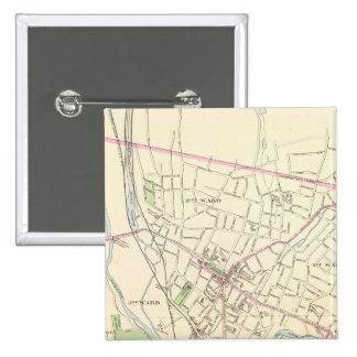 Waterbury 15 Cm Square Badge