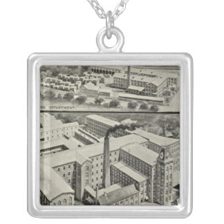 Waterbury Clock Co Silver Plated Necklace