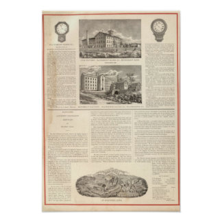Waterbury Clock Company Poster