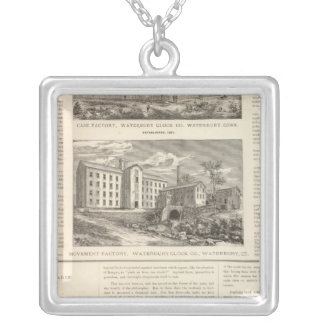Waterbury Clock Company Silver Plated Necklace