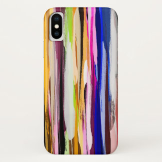 Watercolor Abstract Background #12 iPhone X Case