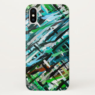 Watercolor Abstract Background iPhone X Case