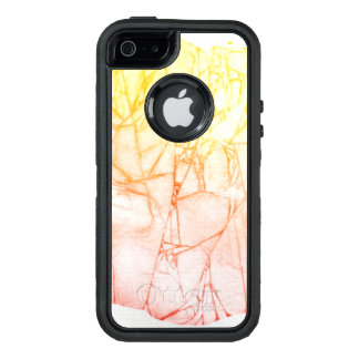 watercolor abstract background OtterBox defender iPhone case