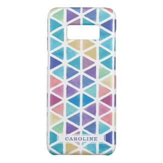 Watercolor Abstract Geometric (Coral Reef Tones) Case-Mate Samsung Galaxy S8 Case