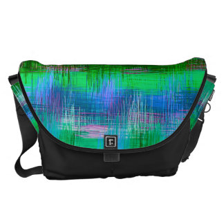 Watercolor Abstract Pattern #10 Courier Bag