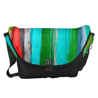 Watercolor Abstract Pattern 12 Courier Bag