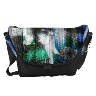 Watercolor Abstract Pattern #17 Messenger Bags