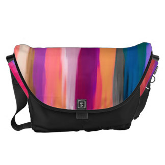 Watercolor Abstract Pattern #3 Courier Bag