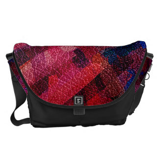 Watercolor Abstract Pattern #4 Messenger Bags