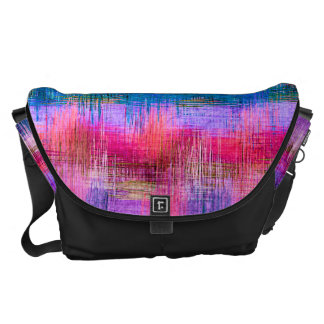 Watercolor Abstract Pattern #9 Messenger Bags