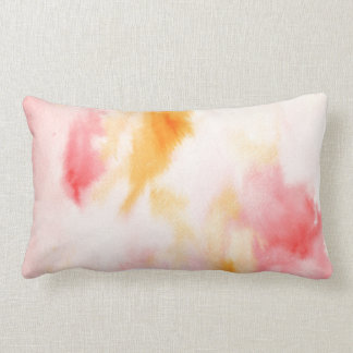 Watercolor Abstract pattern Pillows