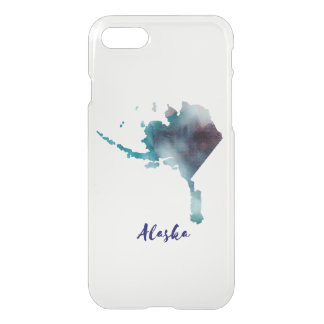 Watercolor Alaska United States iPhone 8/7 Case