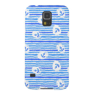 Watercolor Anchor Pattern 1 Galaxy S5 Cases