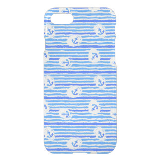 Watercolor Anchor Pattern 1 iPhone 8/7 Case