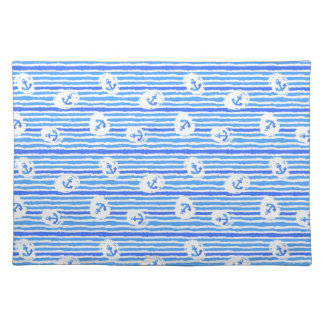 Watercolor Anchor Pattern 1 Placemat