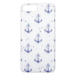 Watercolor Anchor Pattern 2 iPhone 8 Plus/7 Plus Case