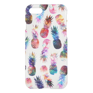 watercolor and nebula pineapples illustration iPhone 8/7 case