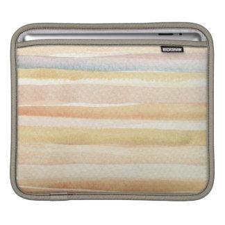 Watercolor art background, texture iPad sleeve